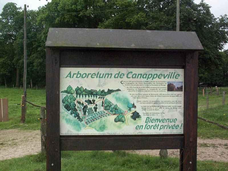 Arboretum - Canappeville © OT Le Neubourg