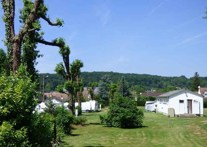 Camping Les Trillots, Ezy-sur-Eure © Mairie d'Ezy-sur-Eure