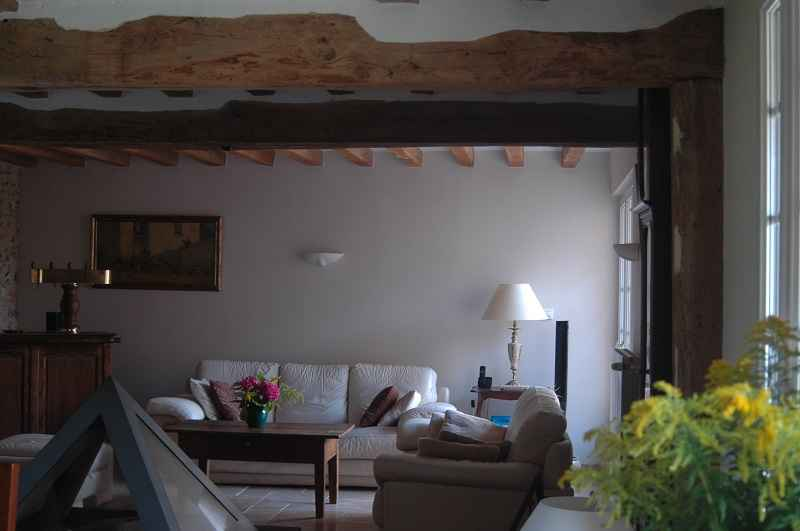 Vue J.Interieure de la Fermette Normande©Anne Bobée