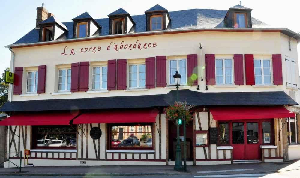 Hôtel-restaurant La Corne d'Abondance, Bourgtheroulde © JC Delisle