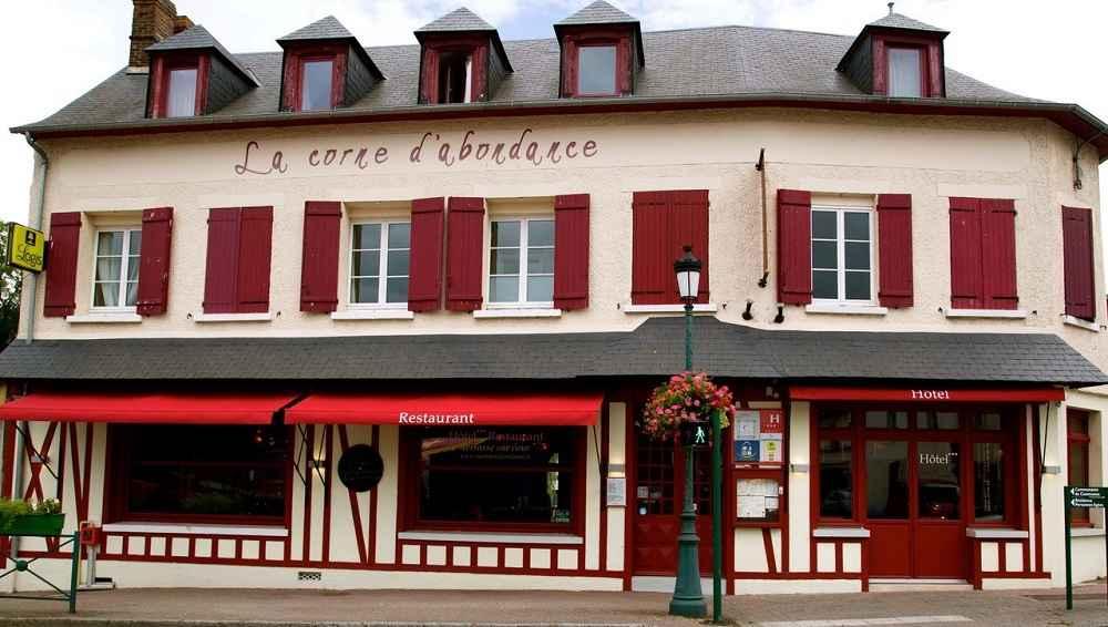 Hôtel restaurant La Corne d'Abondance, Bourgtheroulde © JC Delisle