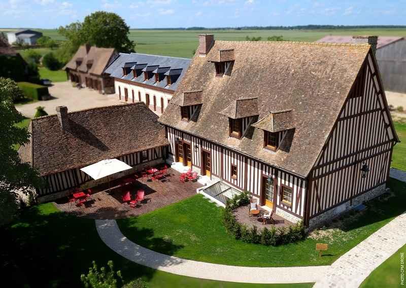 Manoir de Surville, Eure, Normandie © Manoir de Surville