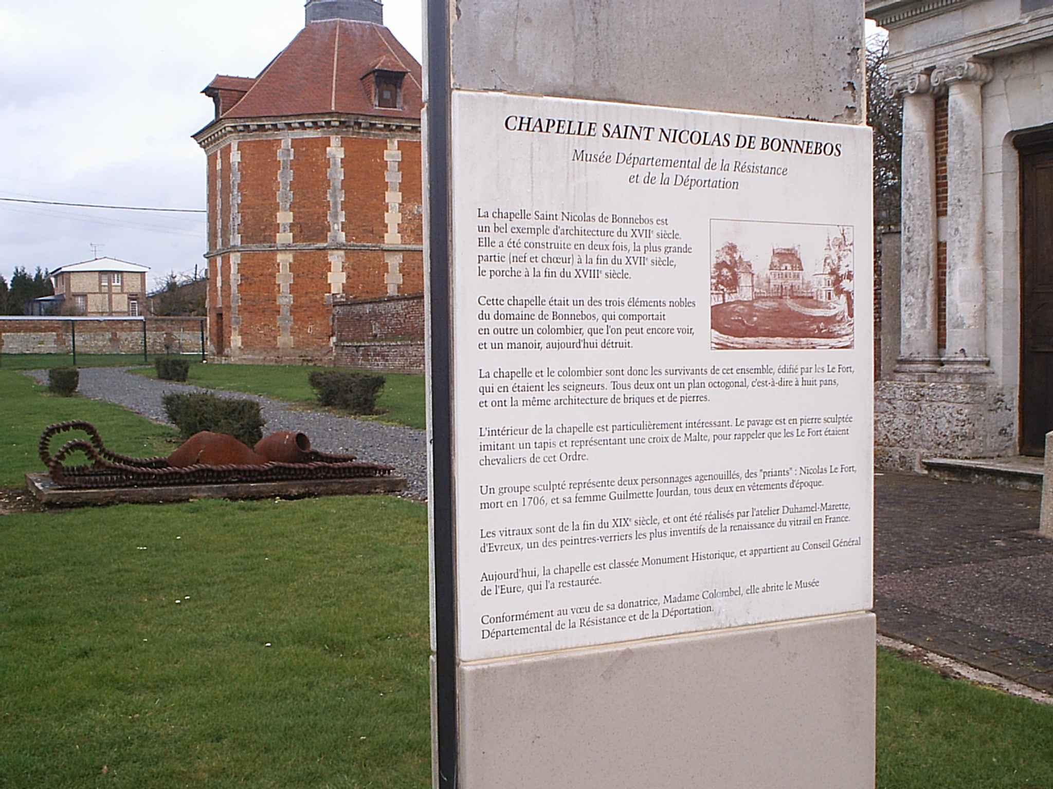 Musée de la résistance et de la déportation © Eure Tourisme, E. Rangée