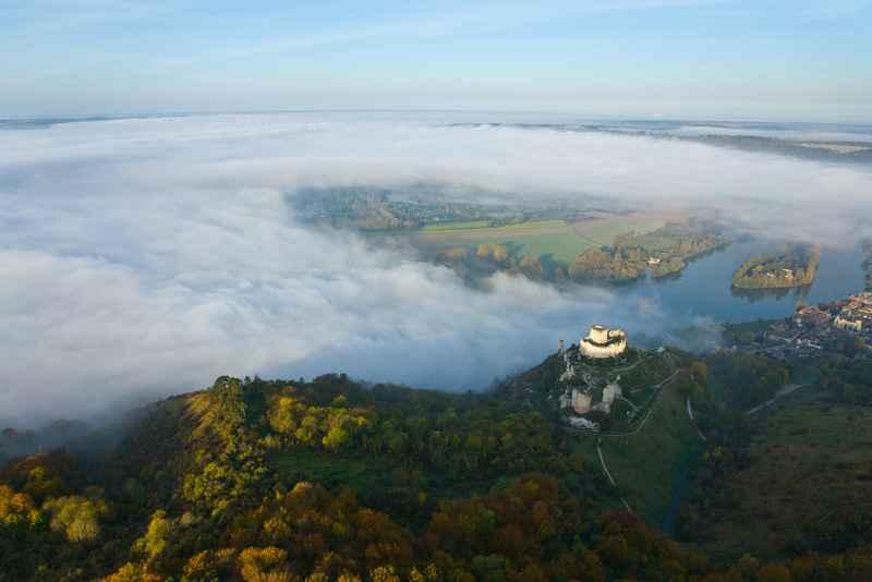 Chateau-Gaillard © Eure Tourisme, F. Cormon