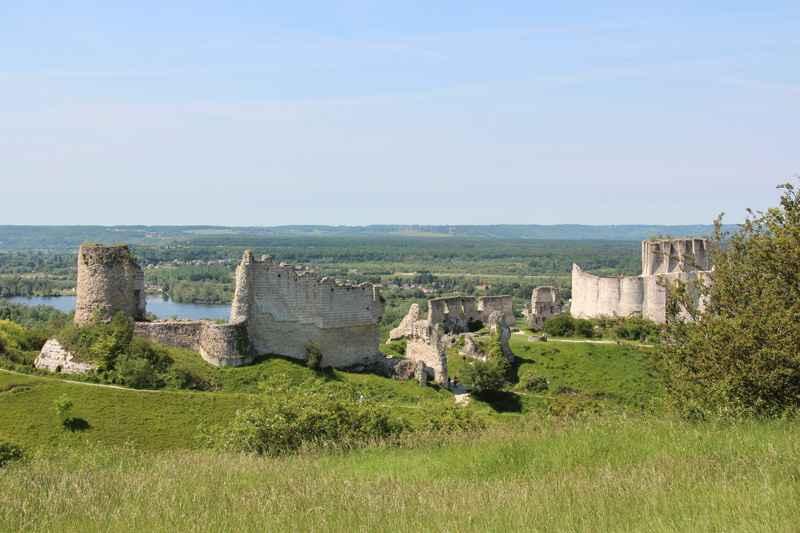 Chateau-Gaillard, Les Andelys © Eure Tourisme, M. Aubry