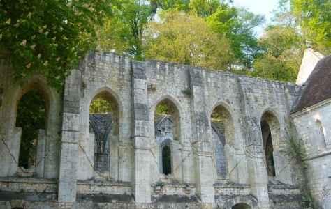 Abbaye Fontaine-Guérard © Eure Tourisme, A. Eloy