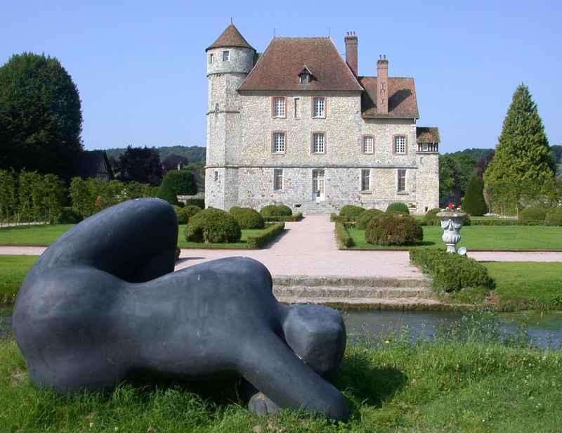Château + parc Volti1 © Château de Vascoeuil