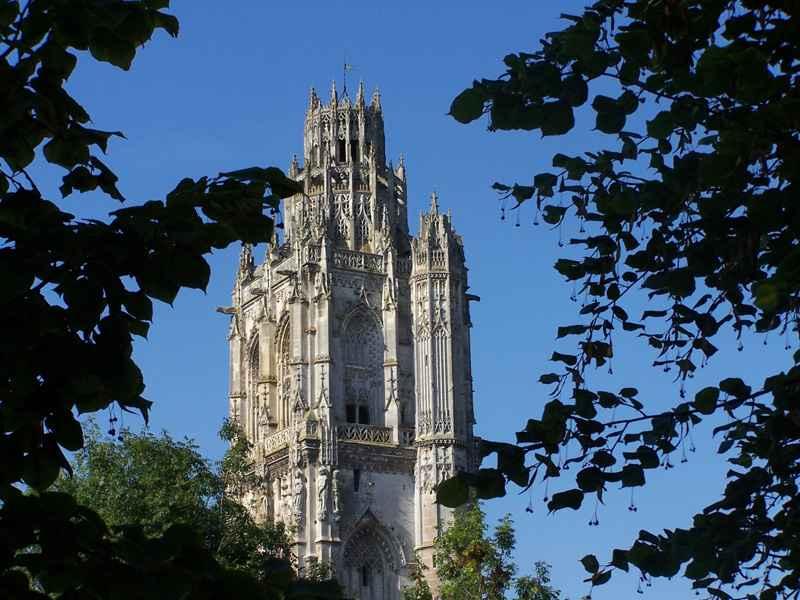 Tour de la Madeleine, Verneuil-sur-Avre © OT Pays d'Avre, d'Eure et d'Iton
