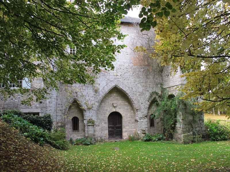 Ancienne abbaye Notre-Dame de Grestain, Fatouville-Grestain, Eure © OT Beuzeville