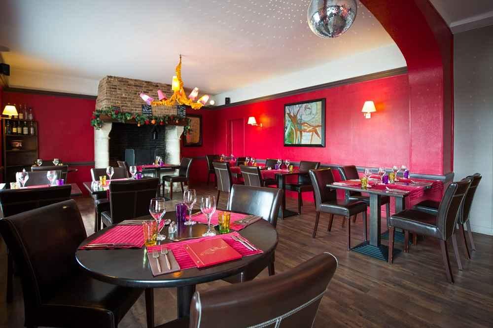 Restaurant de l'hôtel La Corne d'Abondance, Bourgtheroulde © JC Delisle