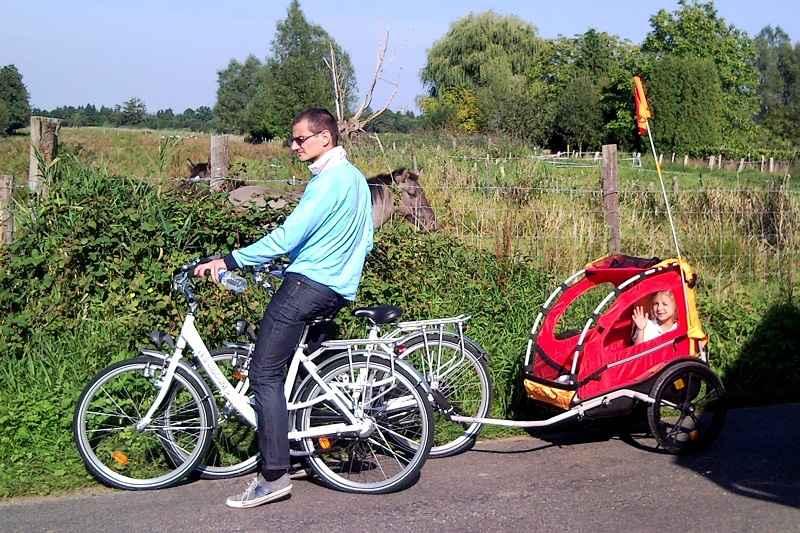 Location de vélos © Les Cigognes