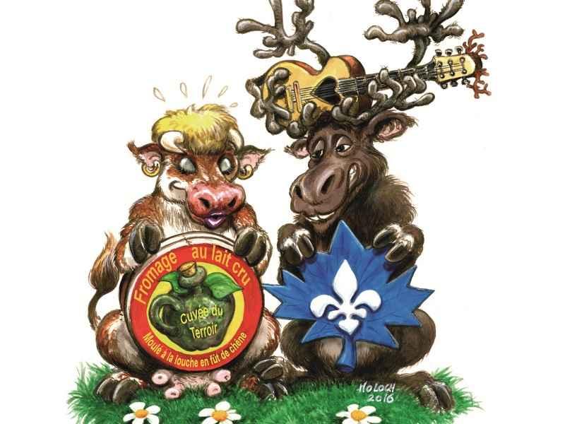 la Vache et le Caribou ADBSTAR