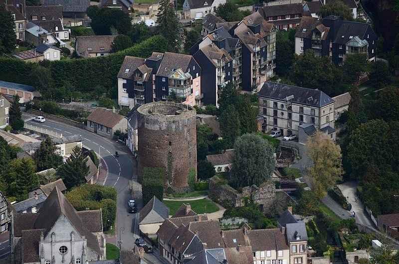 Tour Grise, Verneuil-sur-Avre © OT Normandie Sud